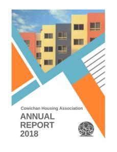Cowichan Housing Association Annual Report 2018